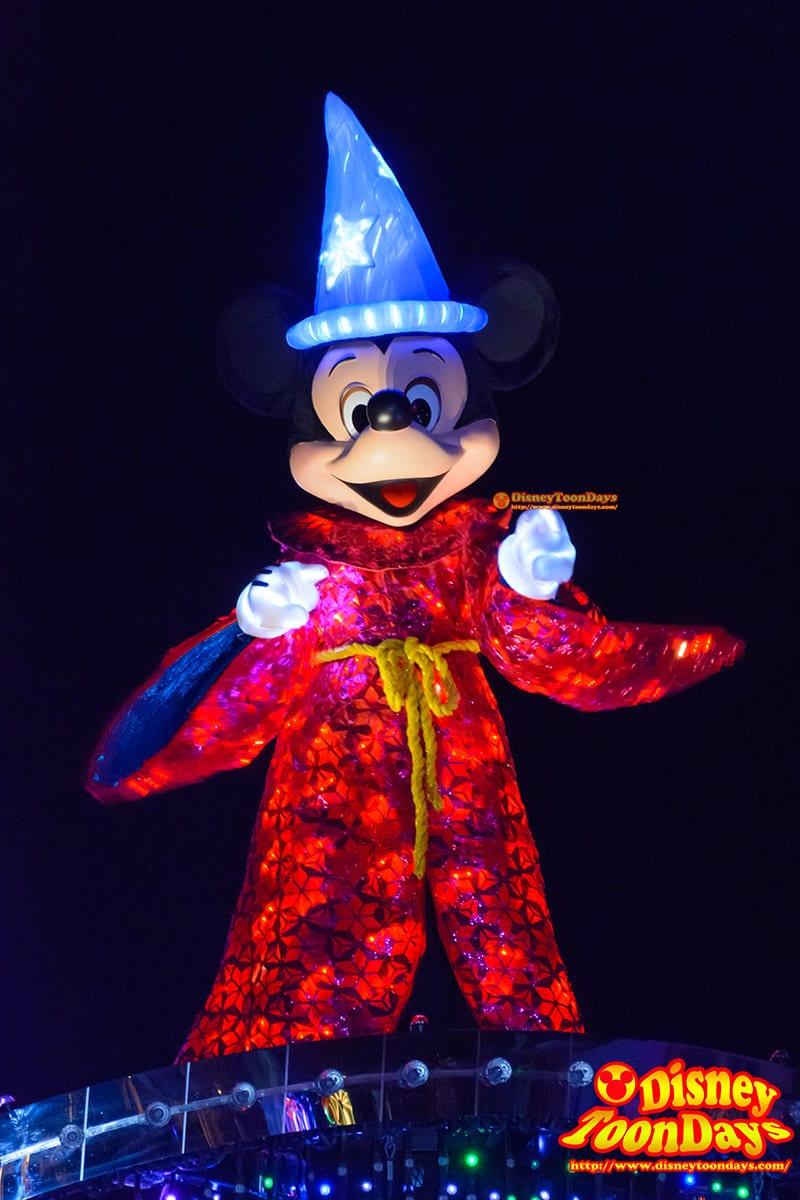 HKDL ペイント・ザ・ナイト ミッキーマウス