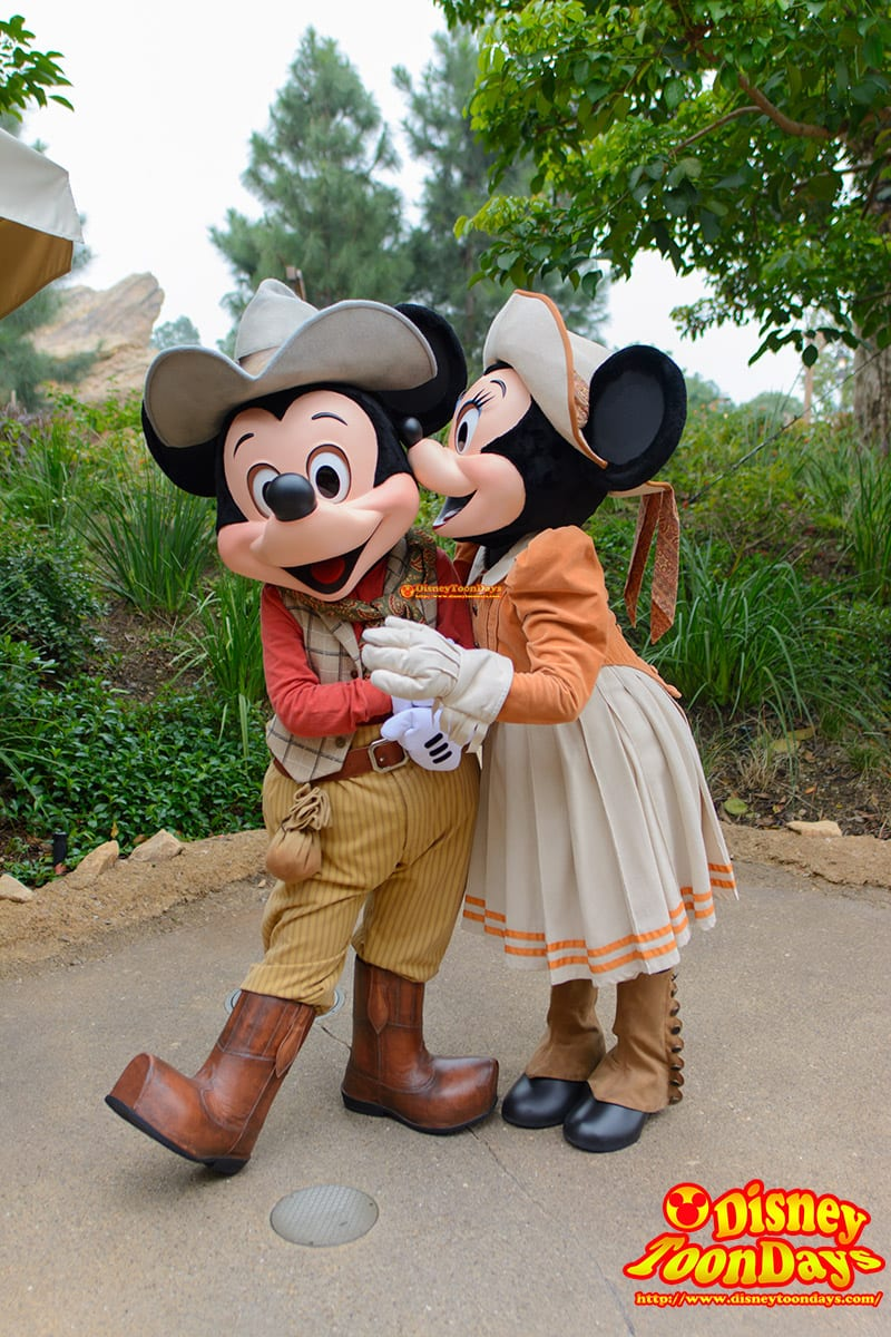 HKDL グリズリーガルチ グリーティング ミッキーマウス ミニーマウス