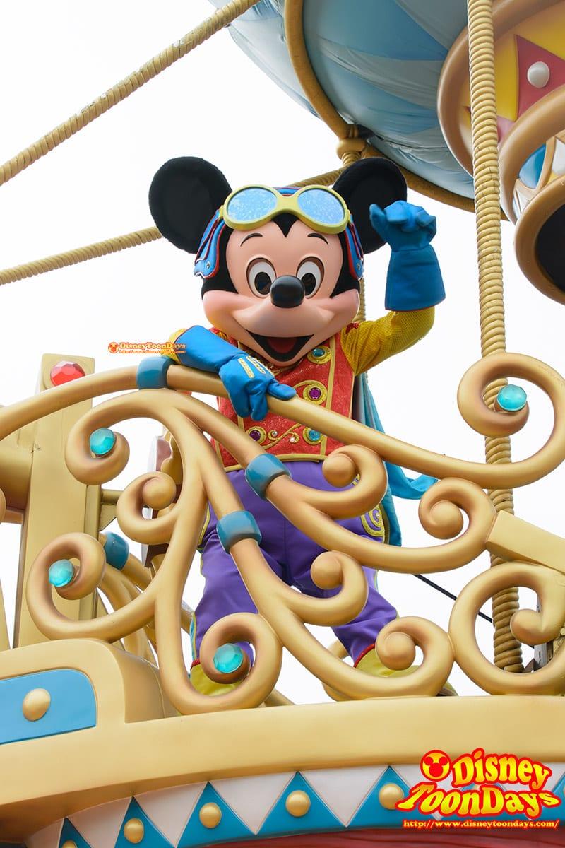 HKDL フライト・オブ・ファンタジー ミッキーマウス