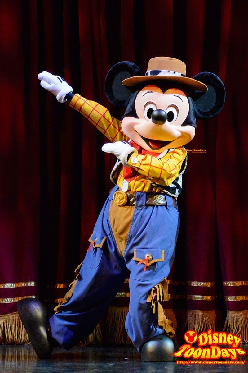 HKDL ゴールデンミッキー ミッキーマウス