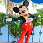 ファンタジー・ガーデンのミッキーとグーフィー/世界一周レポート33
