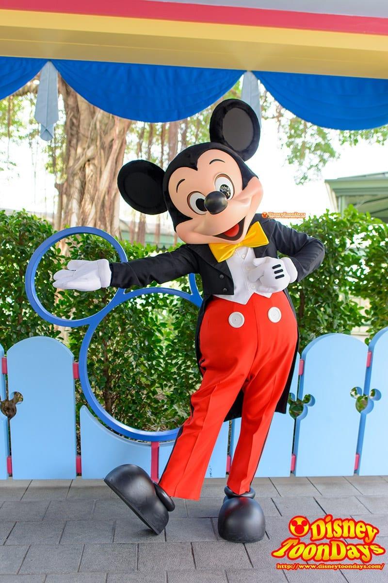 HKDL ファンタジーランド ファンタジーガーデン グリーティング ミッキーマウス