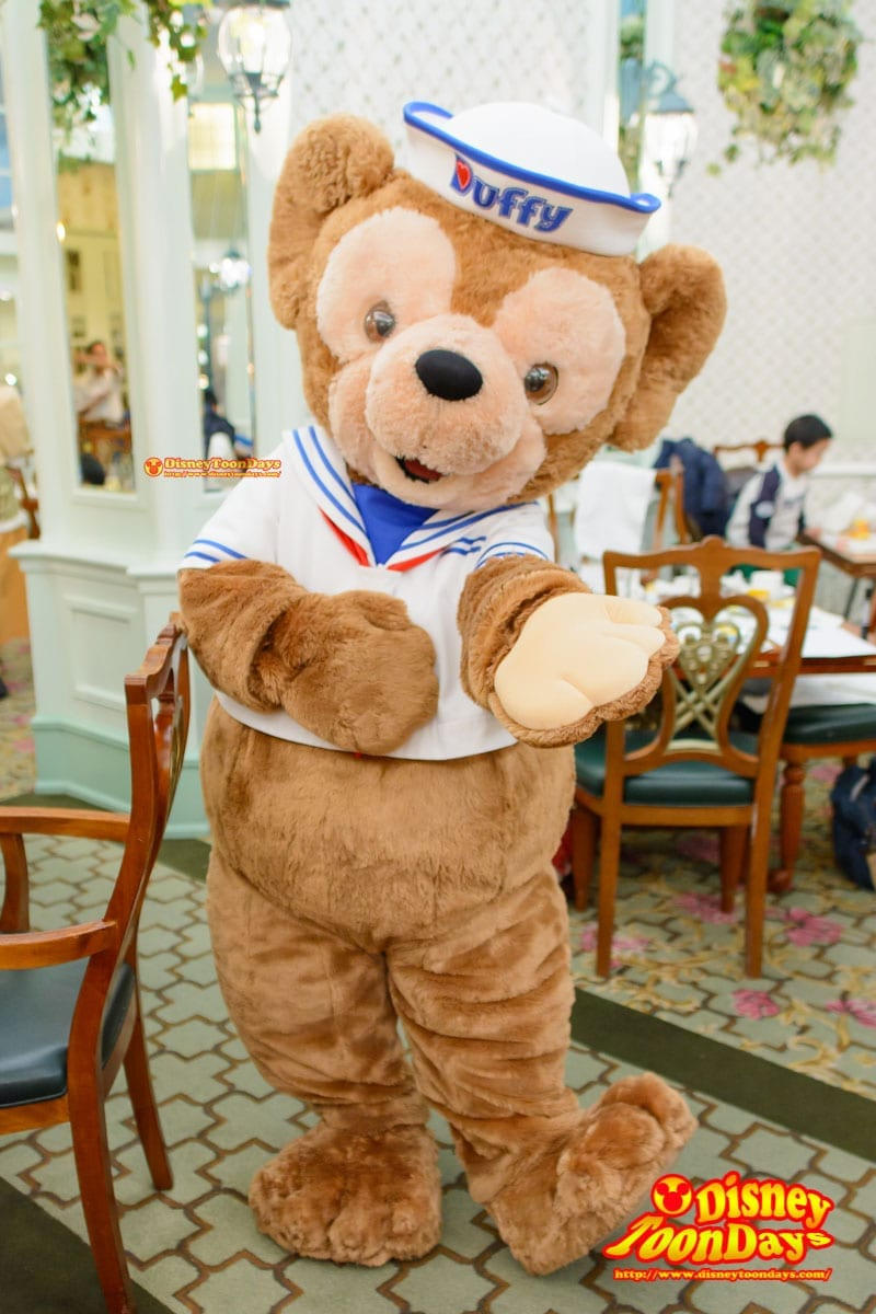 HKDL 香港ディズニーランドホテル エンチャンテッドガーデン ダッフィー