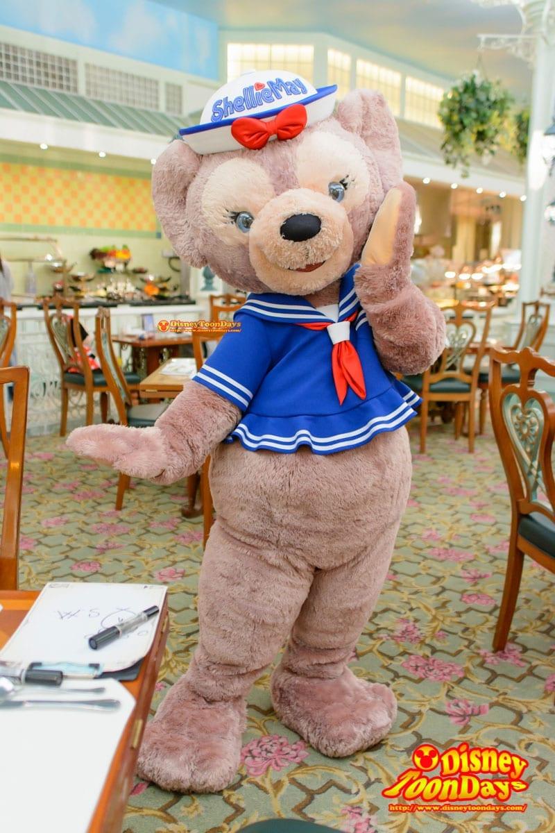 HKDL 香港ディズニーランドホテル エンチャンテッドガーデン シェリーメイ