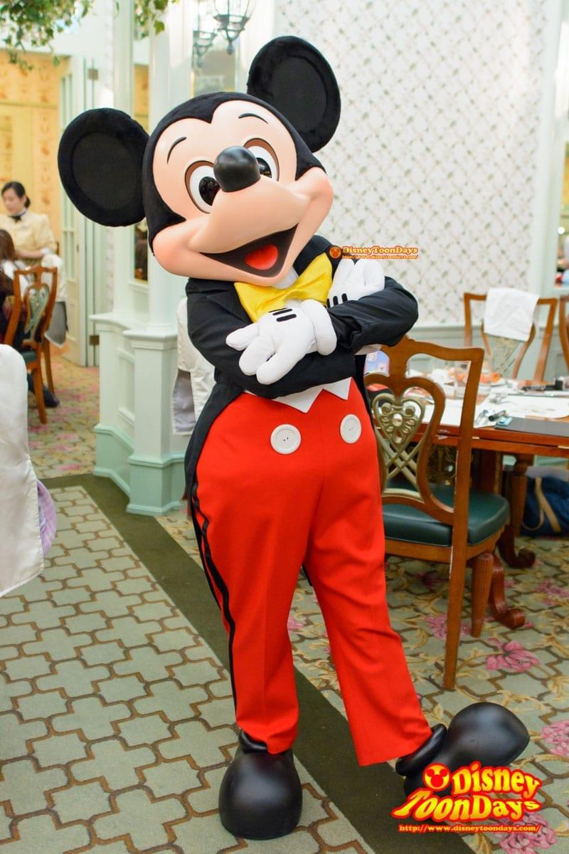 HKDL 香港ディズニーランドホテル エンチャンテッドガーデン ミッキーマウス