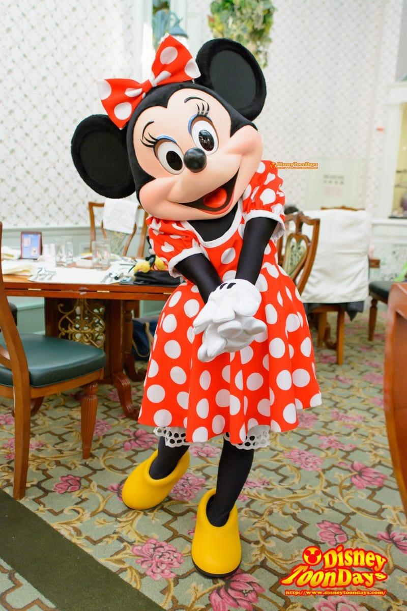 HKDL 香港ディズニーランドホテル エンチャンテッドガーデン ミニーマウス