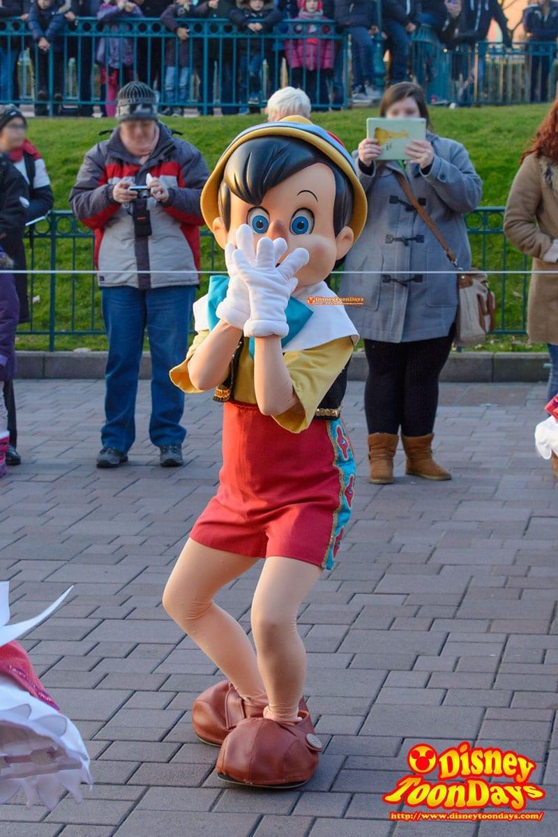 DLP ディズニーマジックオンパレード! ピノキオ