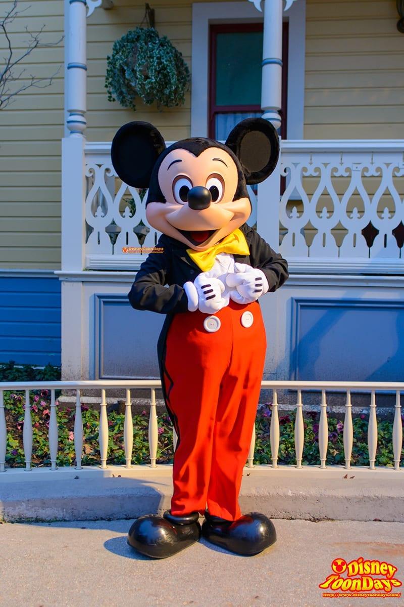 DLP メインストリートUSA グリーティング ミッキーマウス