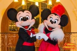 TDS バケーションパッケージ ブロードウェイミュージックシアター 「 ビッグバンドビート 」スペシャルグリーティング付き 2・3DAYS ミッキーマウス ミニーマウス