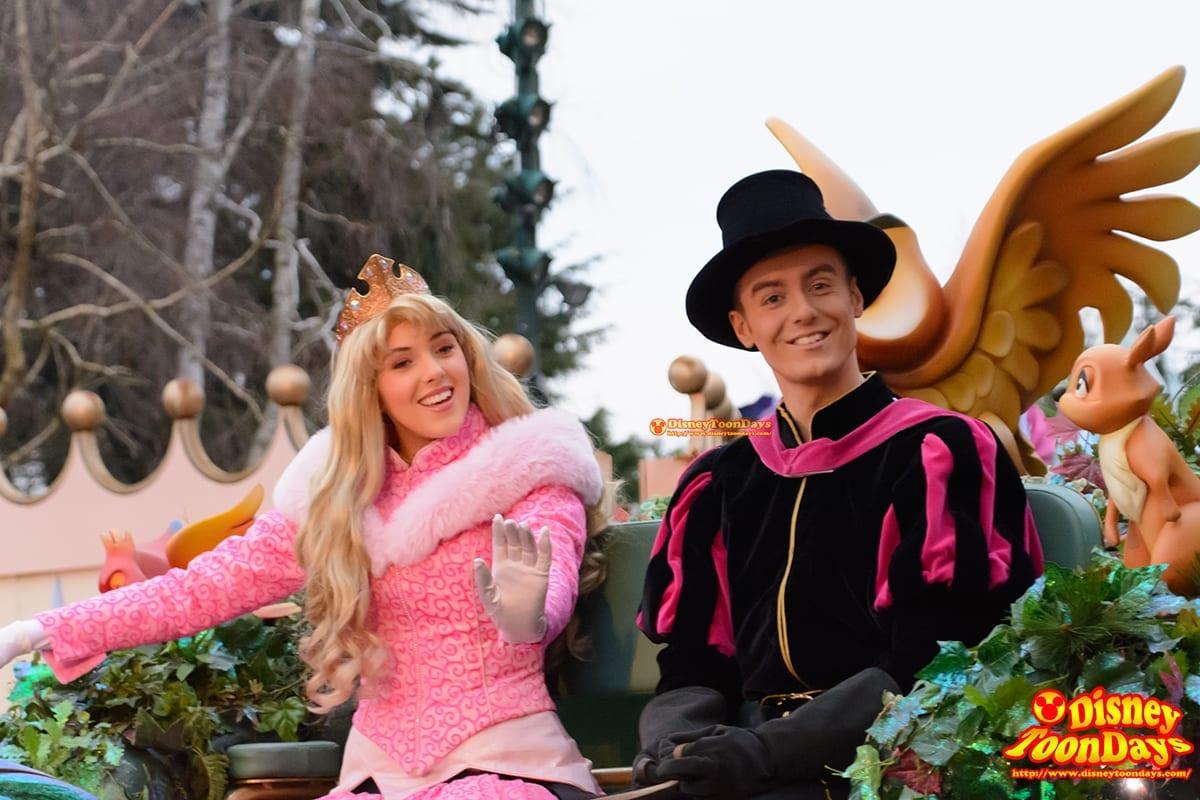 DLP ディズニーマジックオンパレード!  オーロラ姫 フィリップ王子