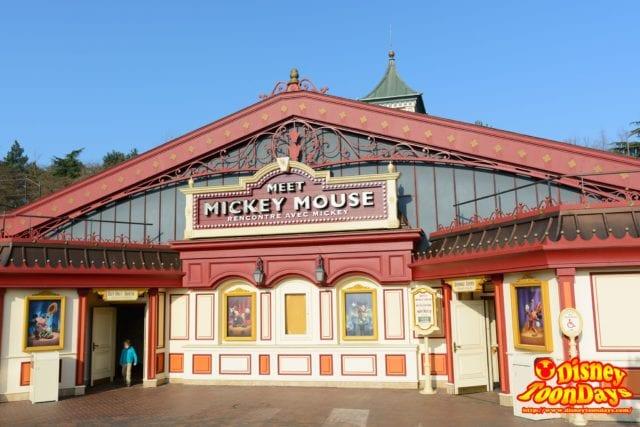 DLP ディズニーランドパリ ファンタジーランド ミート・ミッキー・マウス