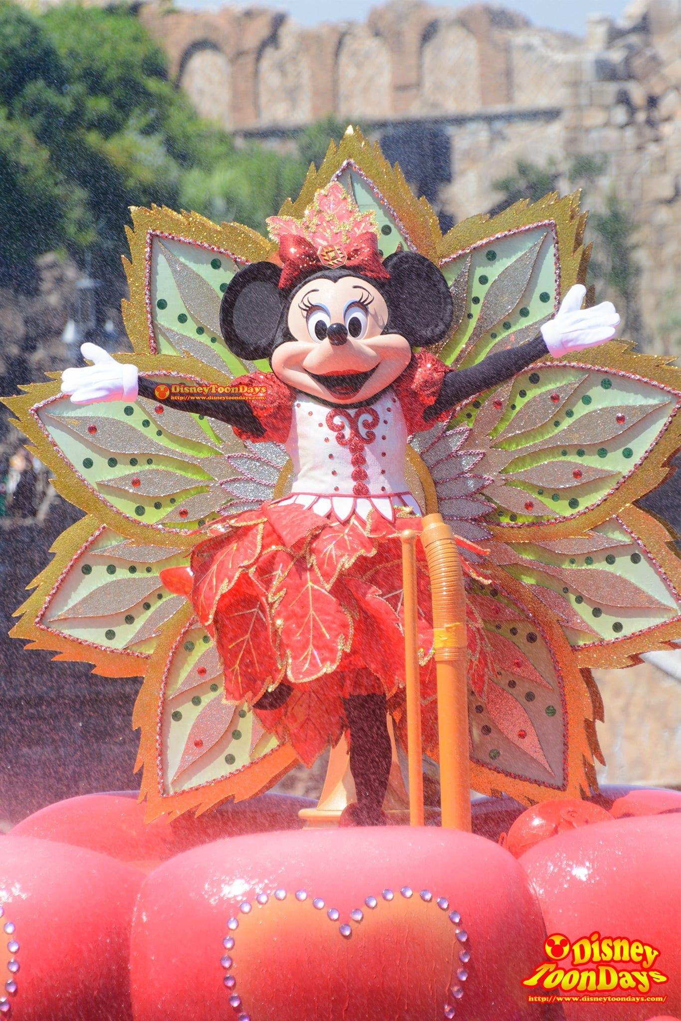 TDS 2015 メディテレーニアンハーバー ディズニー・サマーフェスティバル ミニーのトロピカルスプラッシュ ミニーマウス