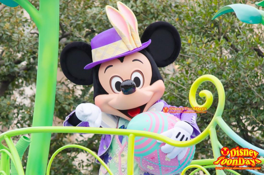 TDL ディズニー・イースター 2014 ヒッピティ・ホッピティ・スプリングタイム ミッキーマウス