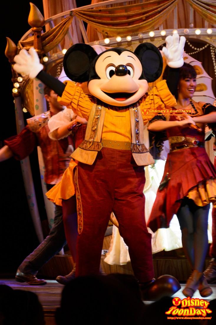 DLR ファンタジーランド ミッキー・アンド・ザ・マジックマップ ミッキーマウス