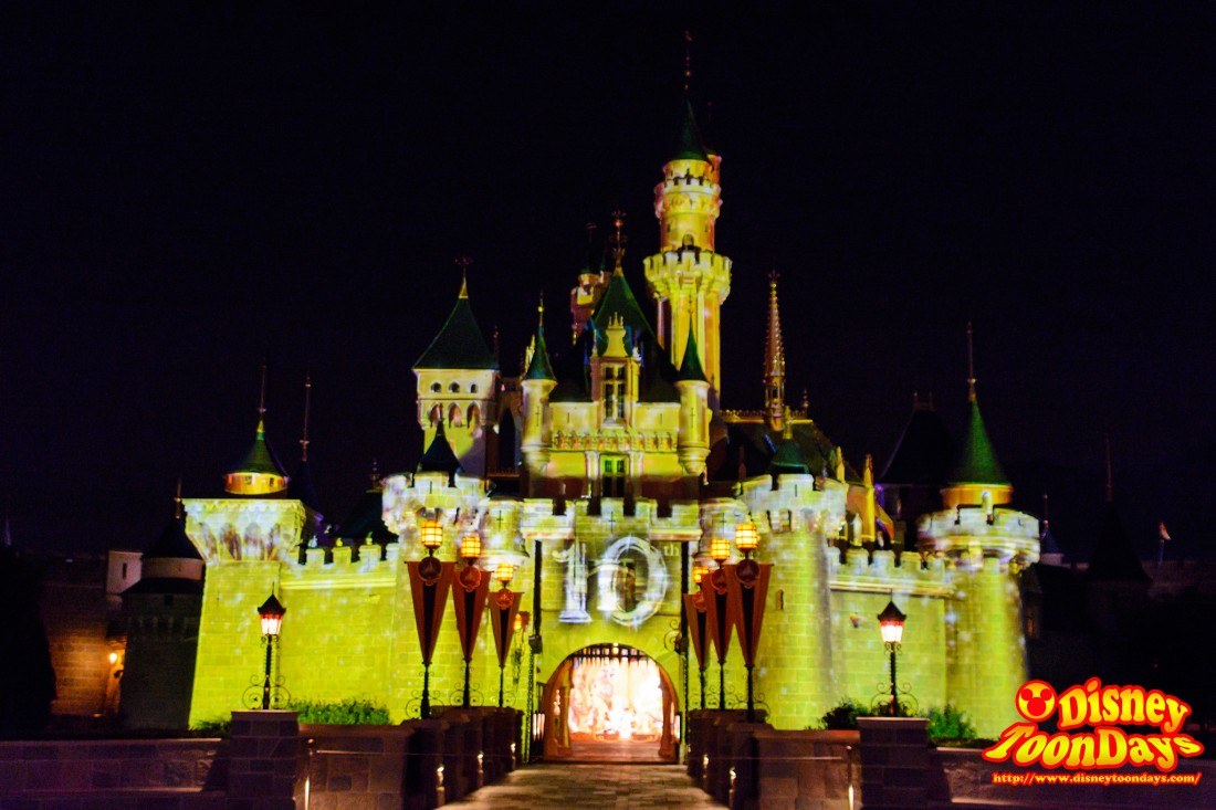 HKDL 10th Happily Ever after 2015 「Happily Ever After」トワイライト・セレブレーション