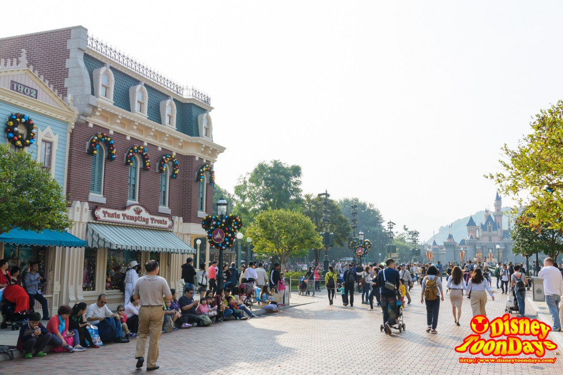 HKDL 2015 風景