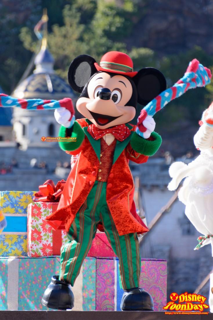TDS メディテレーニアンハーバー クリスマス・ウィッシュ パーフェクト・クリスマス ミッキーマウス