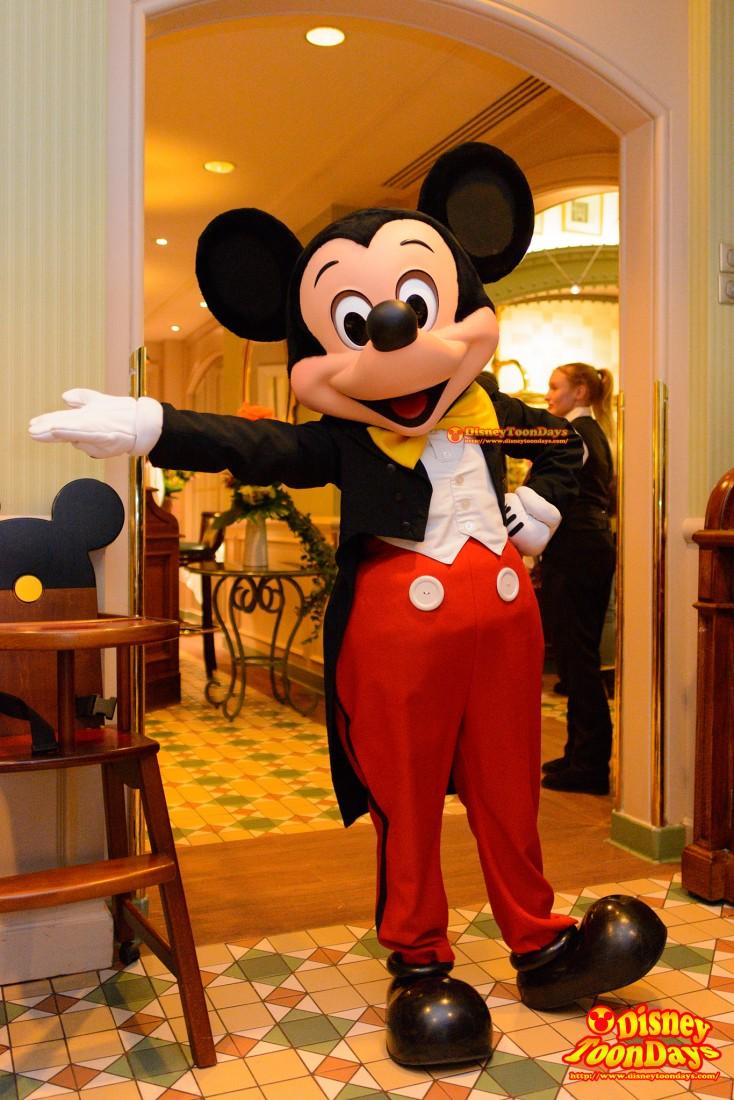 DLP ディズニーランドホテル インベンションズ グリーティング ミッキーマウス