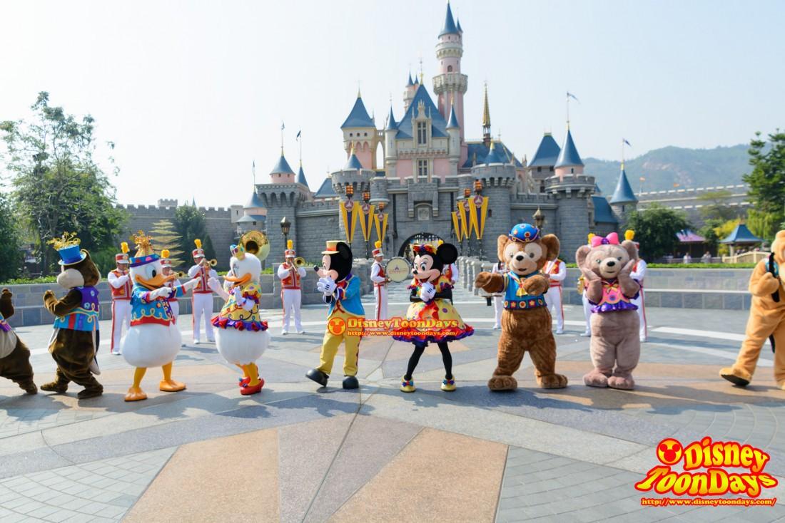 HKDL 10th Happily Ever after 2015 10thアニバーサリーセレブレーション・ウィズ・ミッキー・アンド・フレンズ