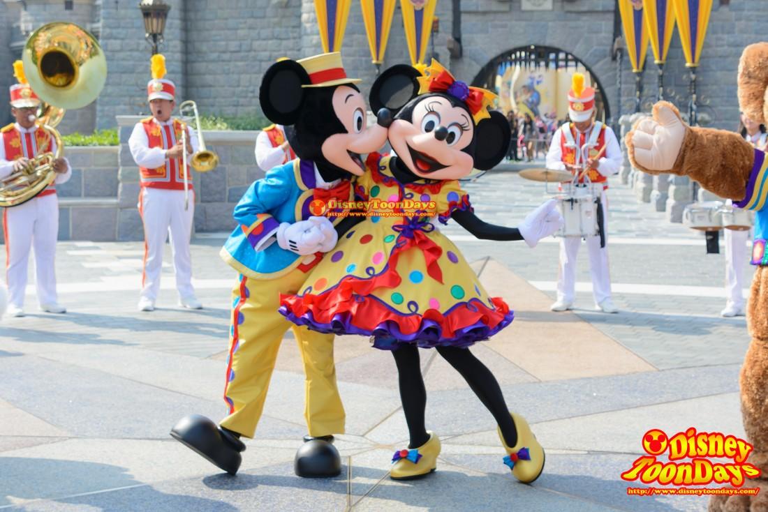 HKDL 10th Happily Ever after 2015 10thアニバーサリーセレブレーション・ウィズ・ミッキー・アンド・フレンズ ミッキーマウス ミニーマウス