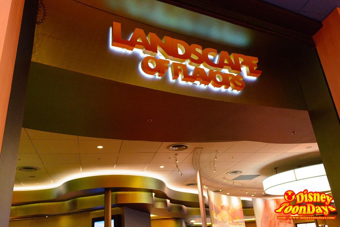 レストラン「ランドスケープ・オブ・フレーバーズ」