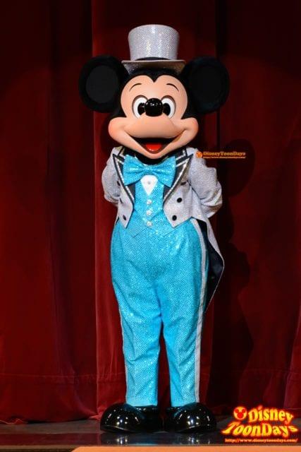 パークファンパーティー開催前のミッキーマウス