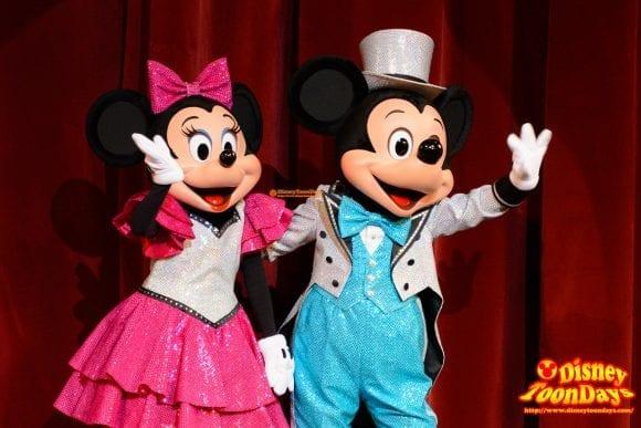 TDS アメリカンウォーターフロント ブロードウェイミュージックシアター パークファンパーティー ミニーマウス ミッキーマウス