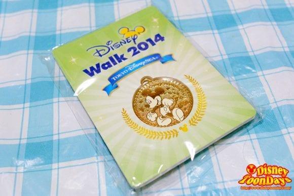 ディズニー・ファン・アンド・ランで参加記念メダルがもらえる!