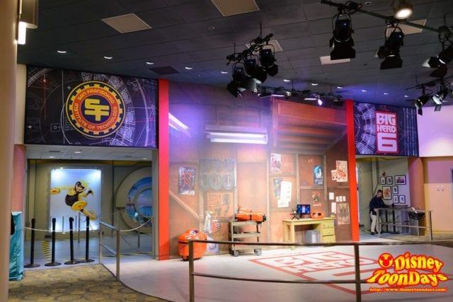 WDW ディズニーハリウッドスタジオ アニメーションコートヤード セット