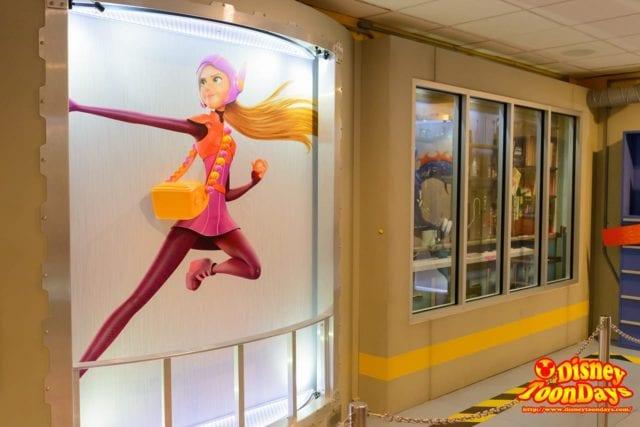 WDW ディズニーハリウッドスタジオ アニメーションコートヤード ハニーレモン
