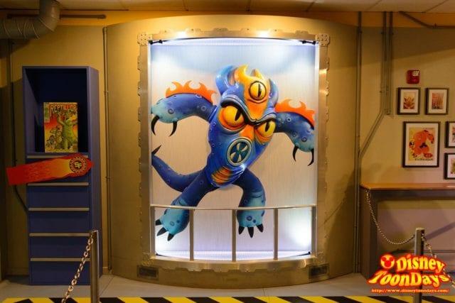WDW ディズニーハリウッドスタジオ アニメーションコートヤード フレッド