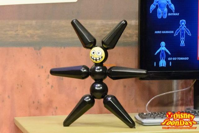 WDW ディズニーハリウッドスタジオ アニメーションコートヤード メガロボット