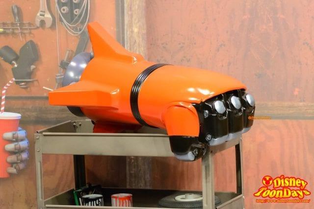 WDW ディズニーハリウッドスタジオ アニメーションコートヤード ロケットパンチ