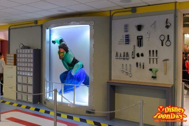 WDW ディズニーハリウッドスタジオ アニメーションコートヤード ワサビ
