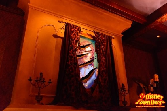 WDW マジックキングダム ニューファンタジーランド ビー・アワー・ゲスト・レストラン ザ・ウエスト・ウィング 絵画