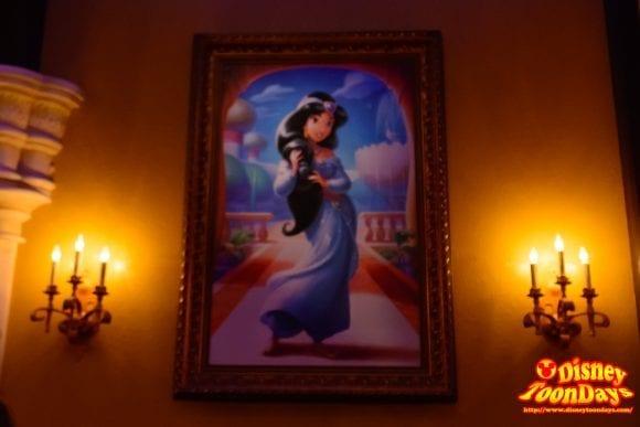 WDW マジックキングダム ファンタジーランド プリンセス・フェアリーテイル・ホール 海外 ジャスミン