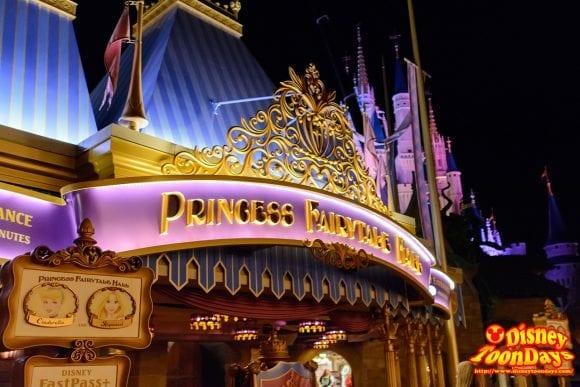 WDW マジックキングダム ファンタジーランド プリンセス・フェアリーテイル・ホール