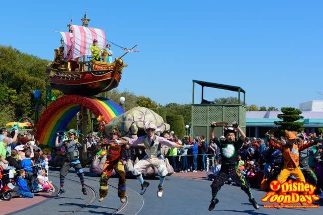 WDW マジックキングダム フェスティバル・オブ・ファンタジー・パレード 「ピーターパン」ユニット