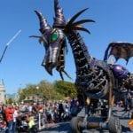WDW『フェスティバル・オブ・ファンタジー・パレード』マレフィセントドラゴン
