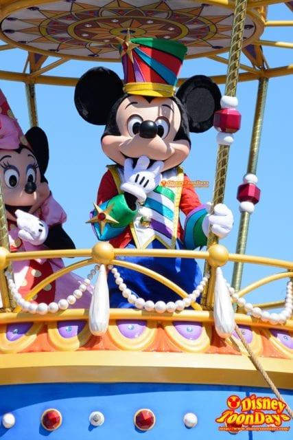 WDW マジックキングダム フェスティバル・オブ・ファンタジー・パレード ミッキーマウス