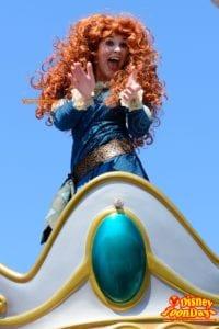 マジックキングダム 『フェスティバル・オブ・ファンタジー・パレード』のメリダ