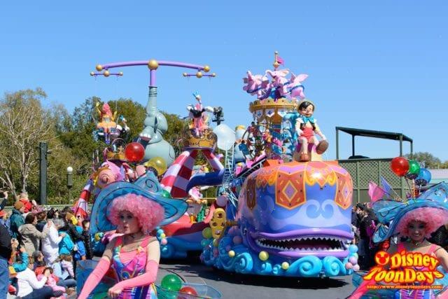 WDW マジックキングダム フェスティバル・オブ・ファンタジー・パレード