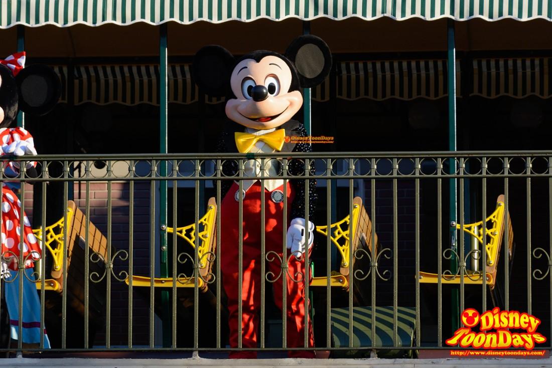 WDW マジックキングダム マジックキングダム・ウェルカム・ショー ミッキーマウス