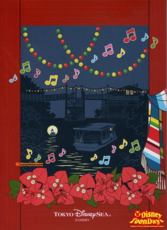 TDS ロストリバーデルタ ミゲルズエルドラドキャンティーナ ディズニーJCBカード キャラクターグリーティング 台紙写真