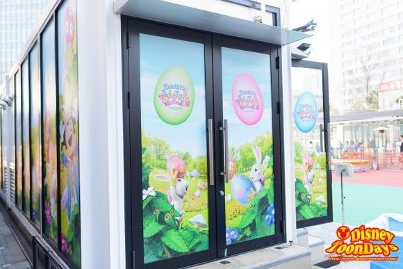 赤坂サカス ママサカス ディズニー・イースター 展示会場サイド 2016