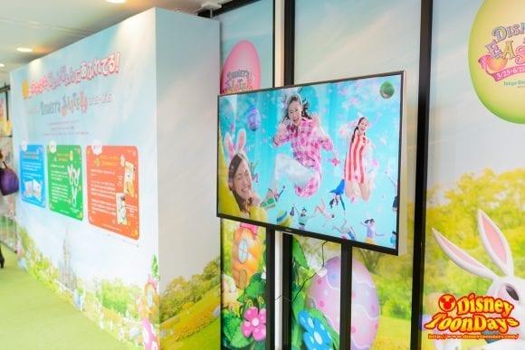 赤坂サカス ママサカス ディズニー・イースター 展示会場内 2016