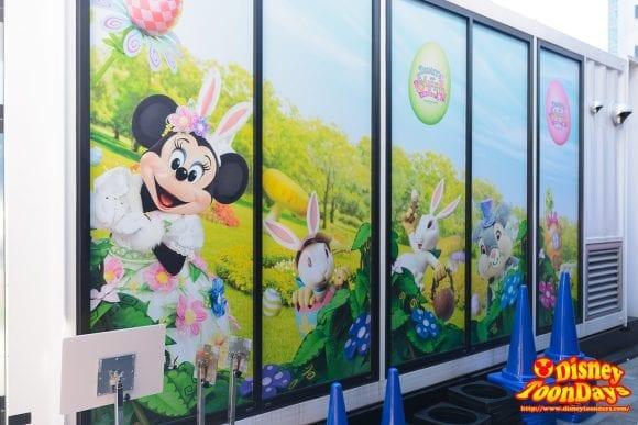 赤坂サカス ママサカス ディズニー・イースター 展示会場裏 2016