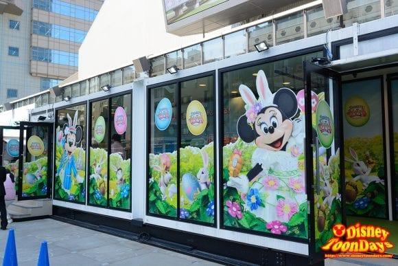 赤坂サカス ママサカス ディズニー・イースター 展示会場 2016