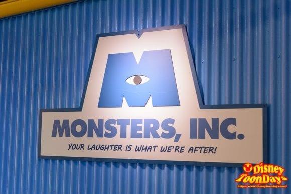 WDW ディズニーハリウッドスタジオ ストリート・オブ・アメリカ グリーティング モンスターズ・インク