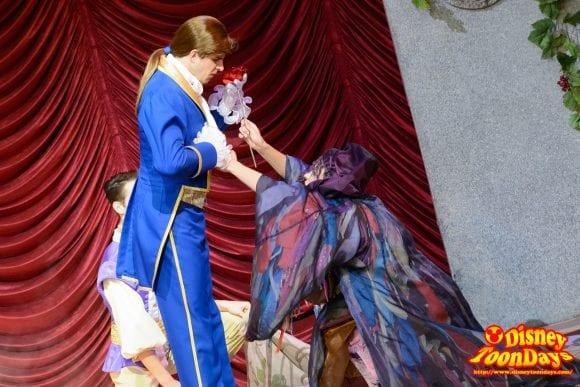 WDW ディズニーハリウッドスタジオ サンセットブルーバード ビューティー・アンド・ビースト・ライブ・オン・ステージ 野獣